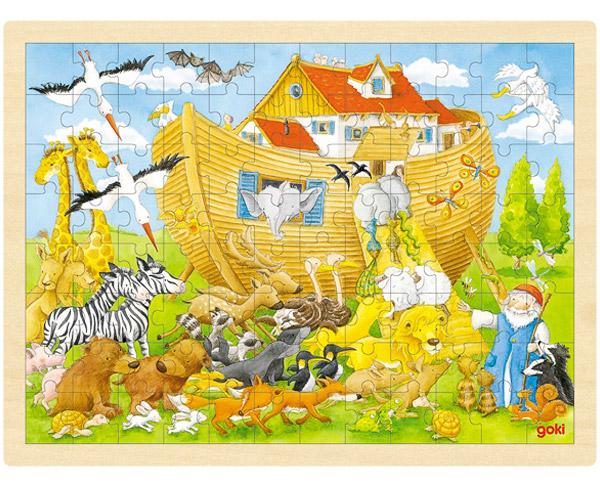 Goki Einlegepuzzle Arche Noah
