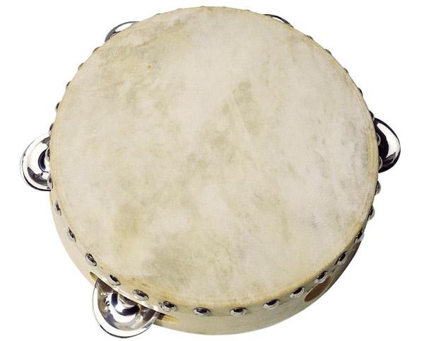 Goki Tamburin mit 5 Schellen
