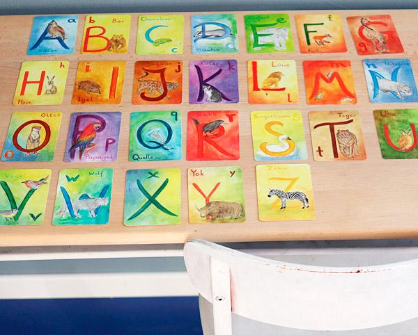 Grimms Kartenspiel Alphabet2