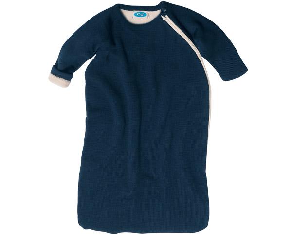 Reiff-Fleeceschlafsack mit Arm+Futter marine
